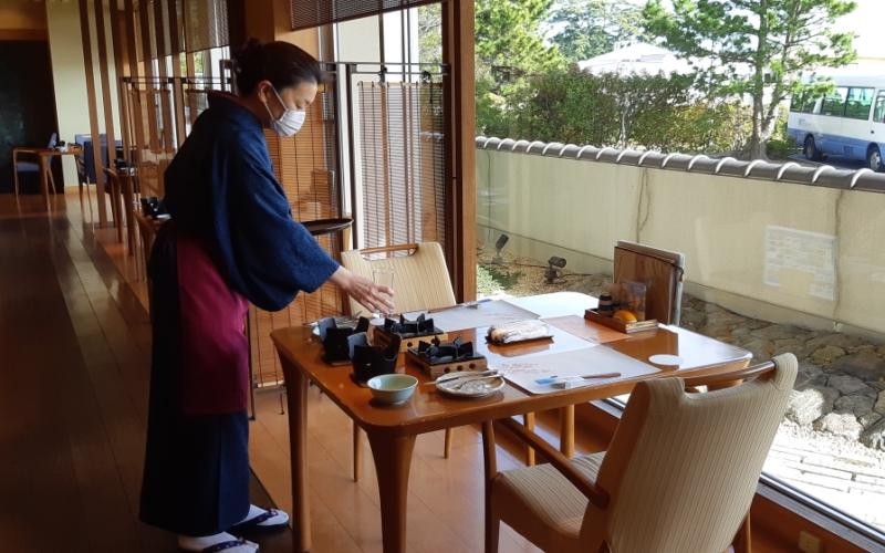 ホテル竹島 コロナウイルス 旅館対策